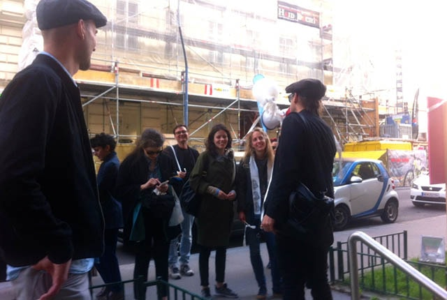 Guided tour to das weisse haus, Hegelgasse 14