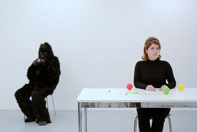 Larissa Kopp, The invisible Gorilla and the Apparent behaviour, videostill, 2013