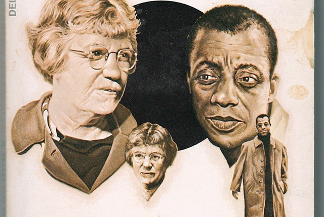 Margaret Mead, James Baldwin, A Rap on Race, 1971,  bookcover, edited by Petra Ponte, 2016